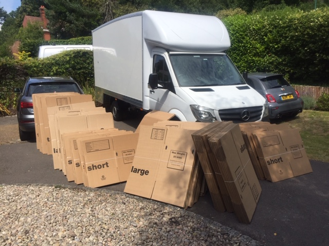 free home removals packing boxes