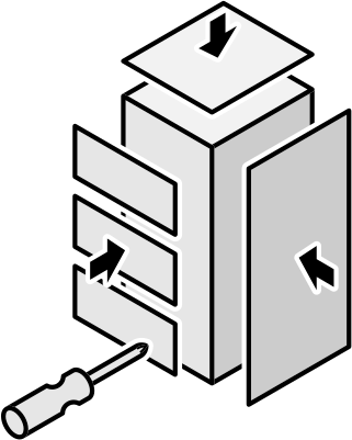 assembling furniture drawers